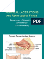 (19) Perineal Lacerations & Rec to Vaginal Fistula