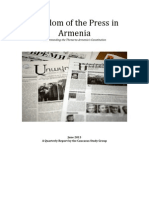 Armenia - Freedom of the Press