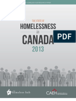 State of Homelessness in Canada
