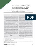 Conocimientos Creencias Y Actitudes En Padres Mexicanos Acerca Del Trastorno Por Déficit... Palacios Et Al