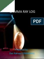 Gamma Ray Log cuy