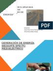 Generación de energía mediante efecto piezoeléctrico