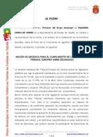 Moción para cumplir la ley de tribunal europeo sobre desahucios.doc