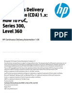 HP Continuous Delivery Automation 1.00