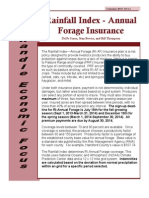 Annual Pasture Insurance