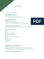 Mnemonics Pharmacology