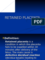 35- Retained Placenta