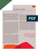 Informes adicionales - Perfil de la economía creativa en PR