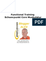 Functional Training Core Muskulatur