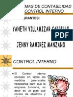 Control Interno y Sistemas de Contabilidad