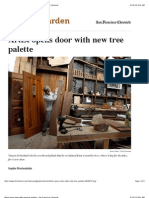 Artist Opens Door With New Tree Palette - San Francisco Chronicle