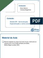Aula_008 - Modelo ER - Generalização e Especialização