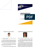 Undergraduate Student Handbook
