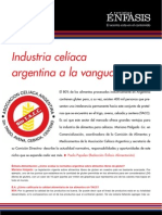 Industria celíaca argentina a la vanguardia