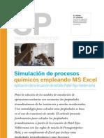 Simulación de Procesos Químicos con Excel