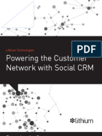 Powering the Customer Network with Lithium Social CRM