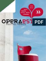 Operaestate Festival Veneto programma 2013