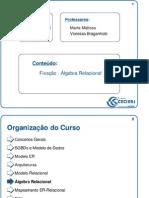 Aula_016 - Fixação - Álgebra Relacional