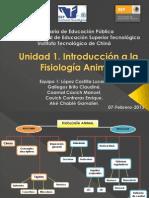 Unidad 1. Introducción a la Fisiología Animal