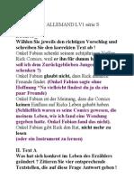 BAC ALLEMAND LV1 série