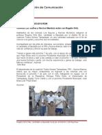 18-06-2013 Boletín 029 Colonias Los Sauces y Narciso Mendoza están con Rogelio Ortiz