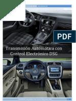 Transmisión Automática con Control Electrónico DSG