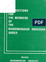 the instruction for the members