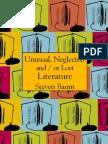 Baum, Stephen - Unusual Neglected & Lost Literature