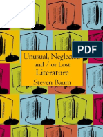 Baum, Stephen - Unusual Neglected & Lost Literature