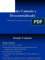 4. Estado Unitario y Descentralizado
