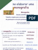 Como Elaborar Uma Monografia