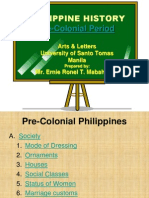 Philippinehistory Pre Colonial Period