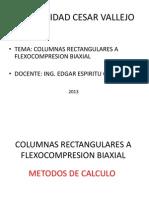 Columnas Rectangulares a Flexocompresion Biaxial