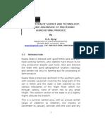 KWARANIZATION OF SCIENCE AND TECHNOLOGY