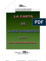 Carta de Lord Chandos, La