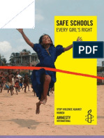 Amnesty International Safe Schools Every Girl's Right 2008