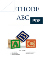 Rapport méthode ABC