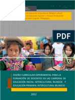 Diseño Curricular Experiemntal Inicial_Primaria EIB_2012_
