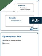 Aula_026 - Fixação de SQL
