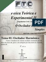 01 - O Oscilador Harmônico Simples