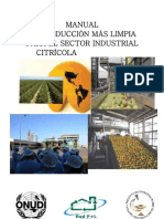 Manual de PML Para El Sector Industrial Citrcola