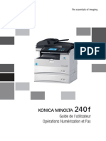 Konica Minolta 240f Ug Scan Fax Operations Fr 1-1-1