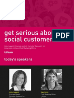 Get Serious About Social Customer Care