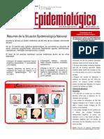 Boletín epidemiológico Nº 23 del Ministerio de Salud