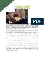 16-06-13 adnsureste Orientan a la población para evitar proliferación del dengue