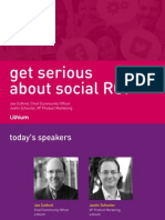 Get Serious About Social ROI