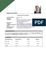 Resume-Vikram Singh Chauhan