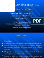 1ra Clase Cabeza - Osteo - Dr. Enriquez