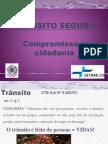 Palestra Transito Seguro-compromisso e Cidadania