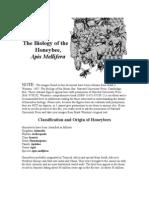 The Biology of the Honeybee